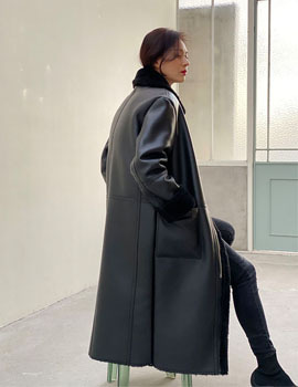 out of stock 19FW LONG MUSTNAG COAT